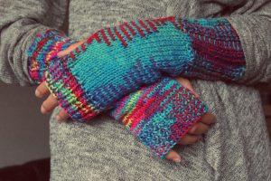 冷房対策で手袋