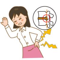 ヘルニアよる坐骨神経痛