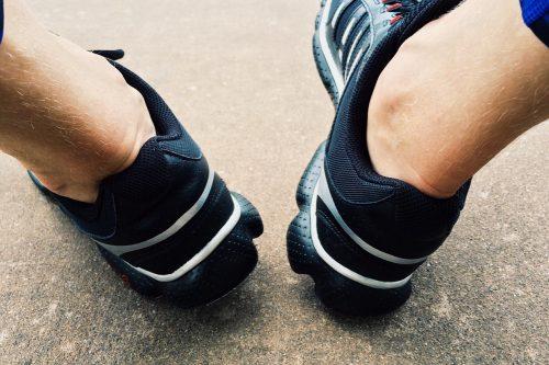 アキレス腱炎へのサポーター効果