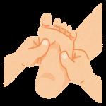 足の裏治療イラスト